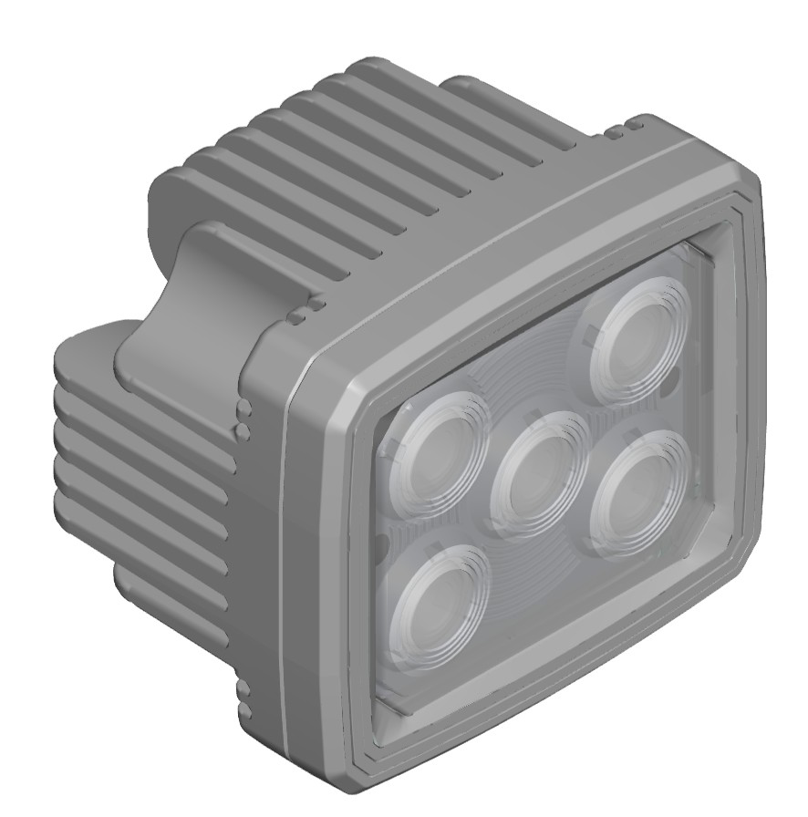 Picture design protection example case: LED work lamp